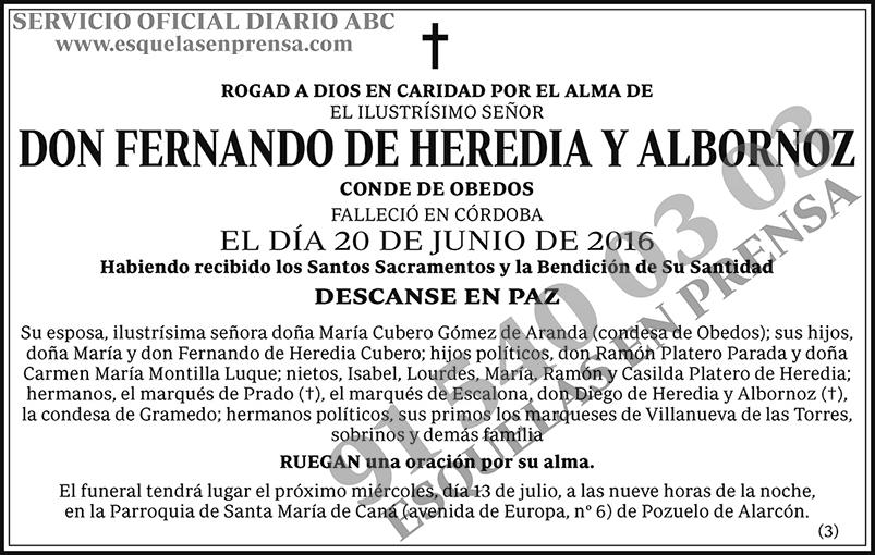 Fernando de Heredia y Albornoz